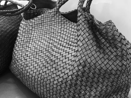 Плетеная сумка!