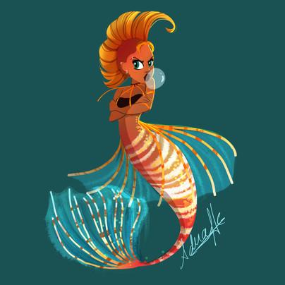 Punk Mermaid