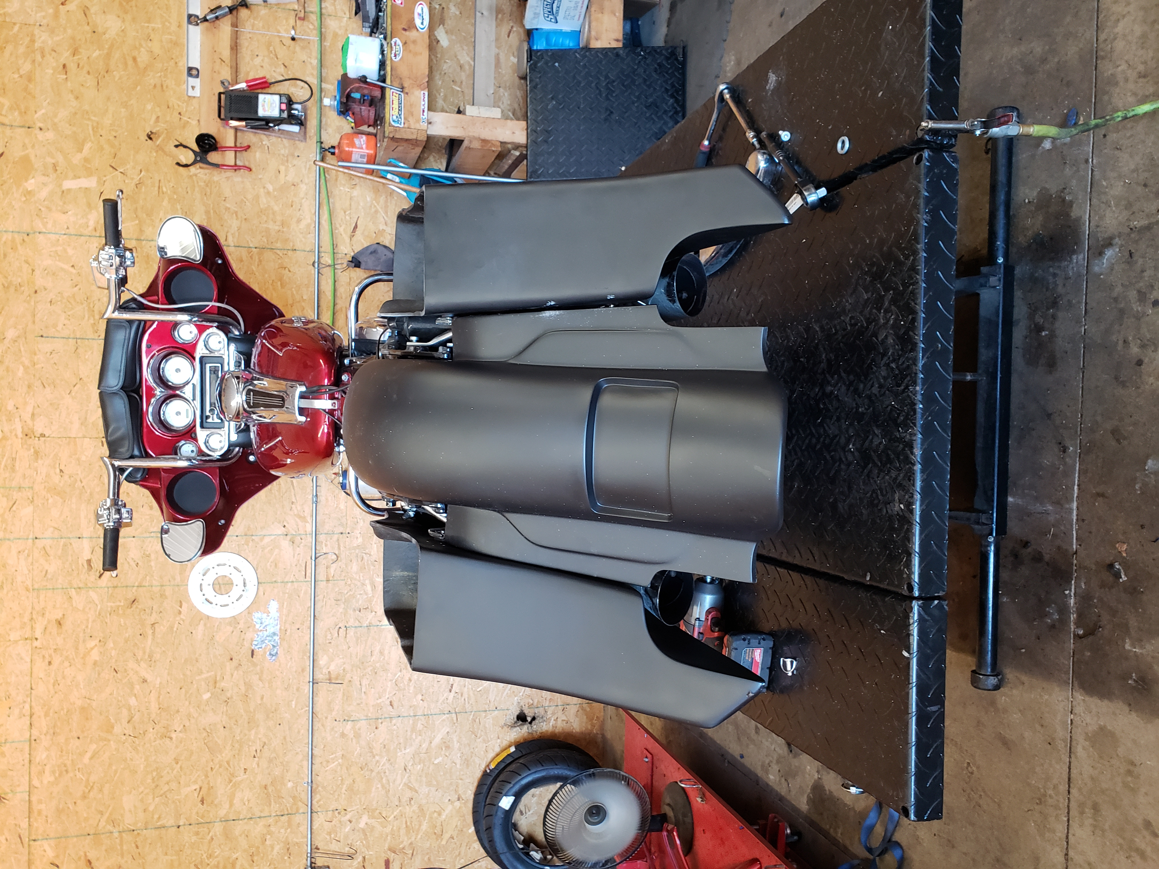 2012 Street Glide Bagger Project