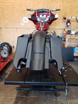 2012 Street Glide Bagger Project