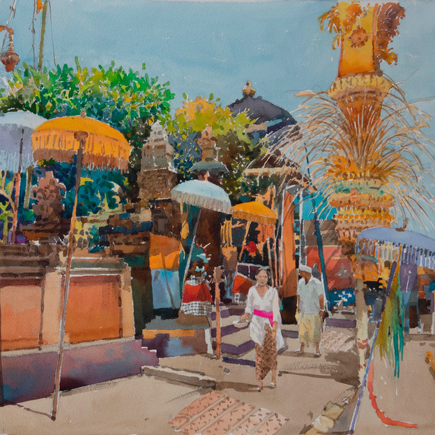 Visions of Sojourn: Paintings of Ong Kim Seng