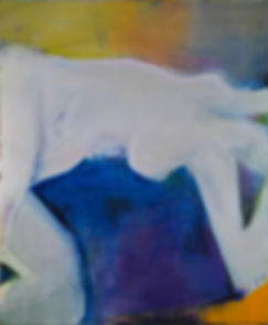 Big Nude, 2007, acrylic on canvas, 127 x