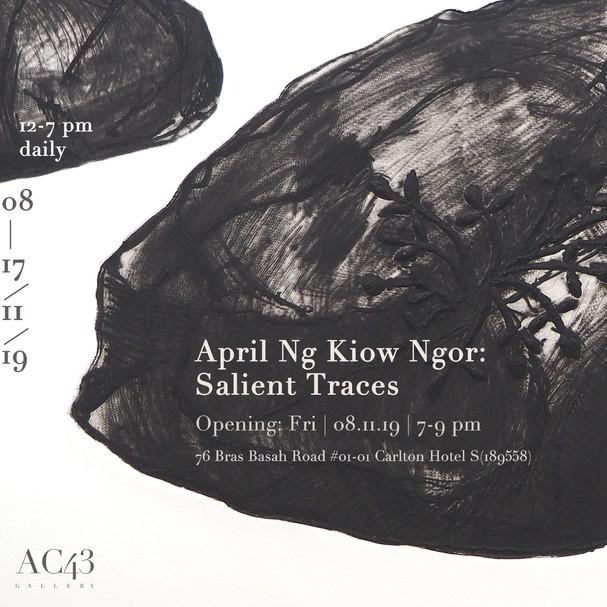 April Ng Kiow Ngor: Salient Traces