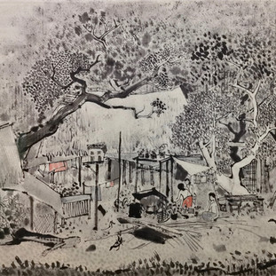 Charting New Waters: A Study of Cheong Soo Pieng's Late Ink Works