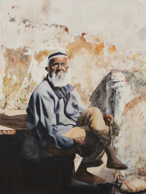 Old Man of Udaipur