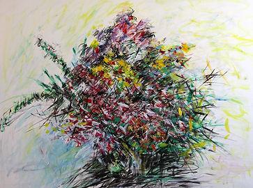 CWY 012  21 Exotic Orchids, Acrylic on Canvas, 76 x 101 cm LR (1).jpg