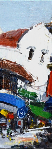 Zhu Hong Guillermard, 2016, 42 x 60 cm, oil on canvas