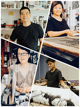 Composite Group Photo of 4 printmakers.j