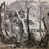Untitled (Kampong Scene)