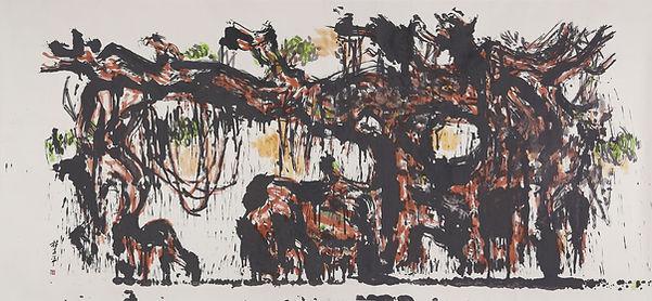 LTP_359 07 Untitled No. 21 (Trees) 242 x