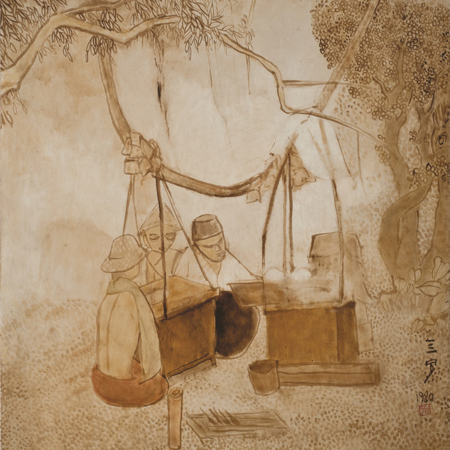 Satay Sellers