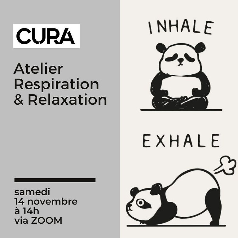 CURA FESTIVAL - Atelier Respiration et Relaxation