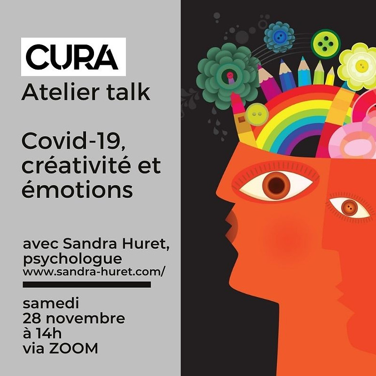 CURA FESTIVAL - Atelier Covid-19, créativité et anxiété