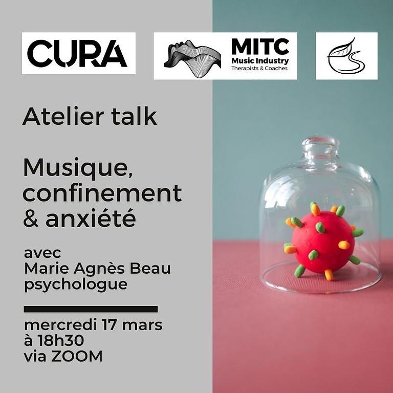 CURA - Atelier Anxiété & Confinement: présentation du guide MITC