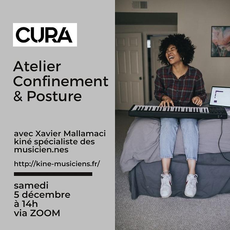 CURA FESTIVAL - Atelier Posture et confinement