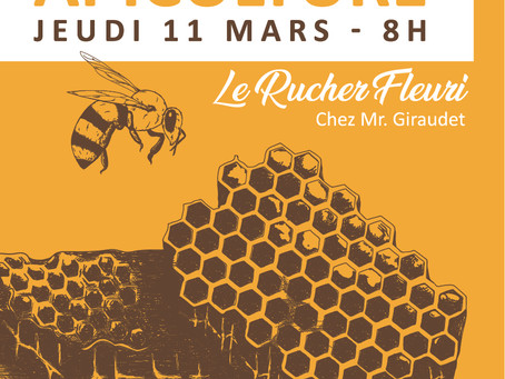 Formation Apiculture - Au Rucher Fleuri