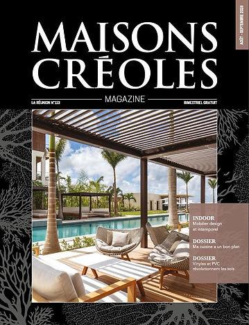 Couverture_Maisons_Créoles_N°113_-_Aout_