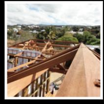 charpente, 974, construction eco bois, maison, bois, réunion