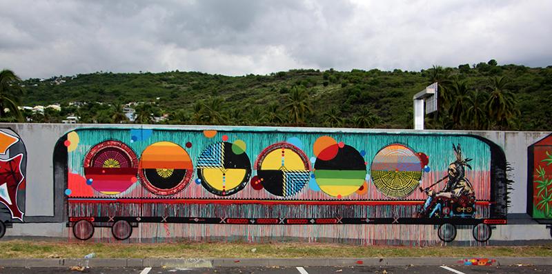 Art2Rue - GRAFFJAM ©Le Graffiti 974