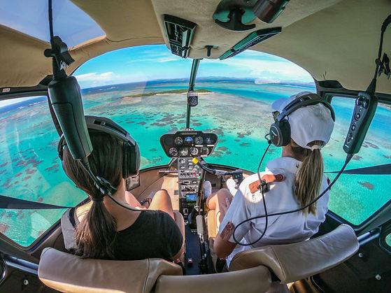 Hélicoptère - Miavana - Madascarenes