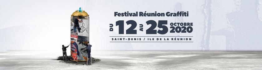 FESTIVAL INTERNATIONAL DE STREET ART RÉUNION GRAFFITI 2020 #2 – 12 AU 25 OCTOBRE 2020