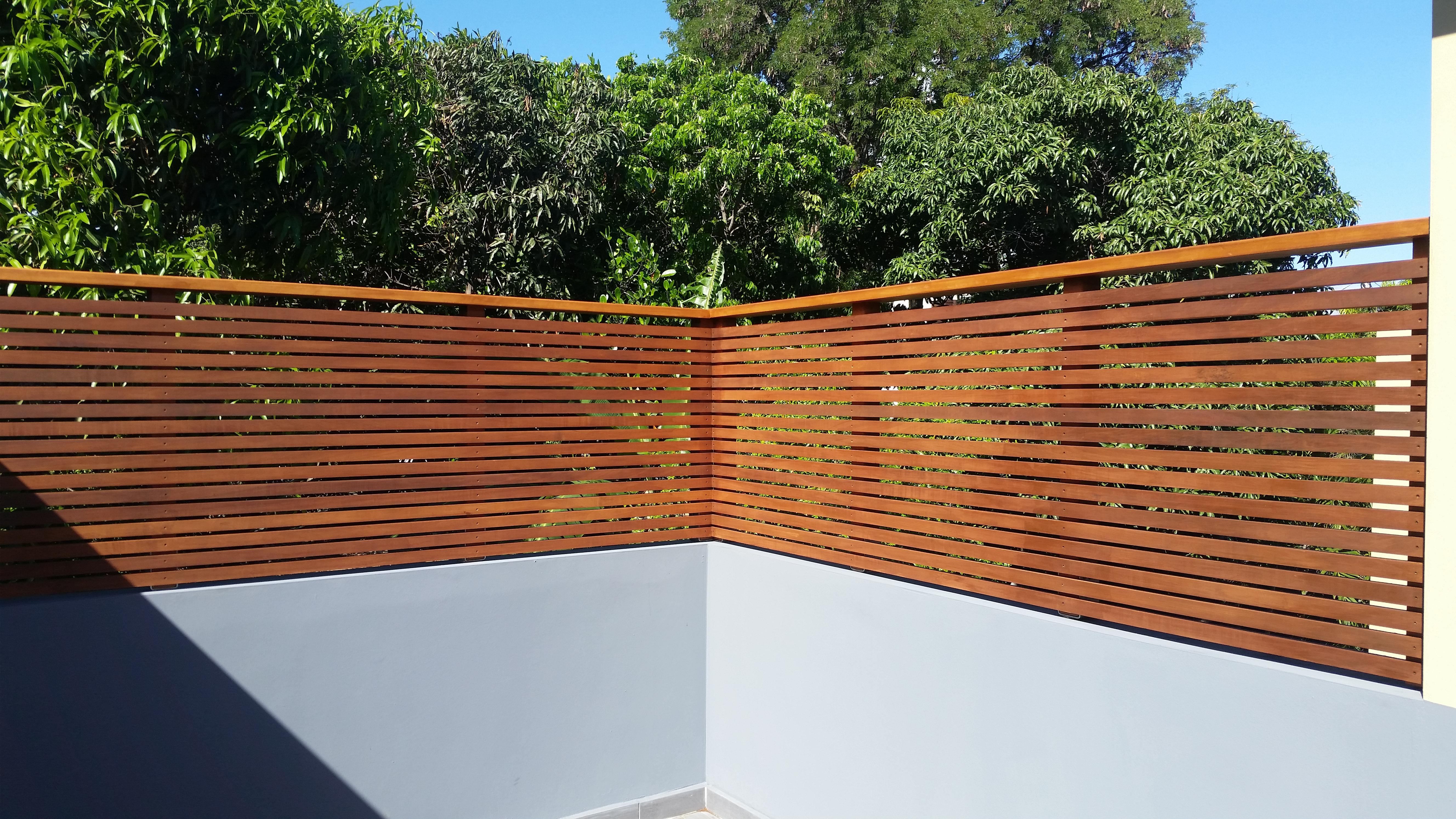 Brise Vue Terrasse Bois construction eco bois à la réunion 974 : aménagement