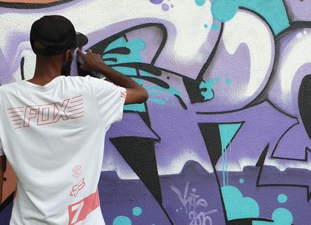 AFRO l 100% GRAFFITI, 100% VANDALE