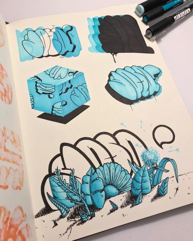 Planche REPY Art Book