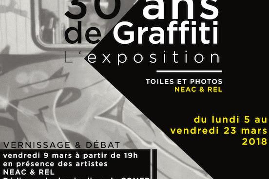 30 ans de graffiti à Nanterre
