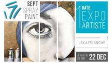 Sept Spray Paint - Exposition