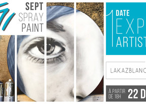 Sept Spray Paint - Exposition