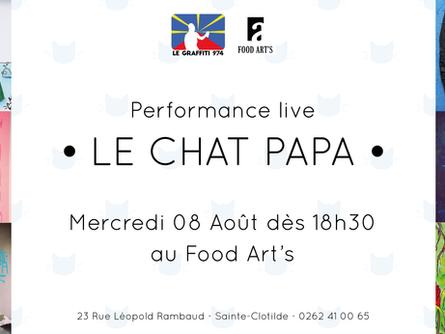 Le Chat Papa au Food Art's