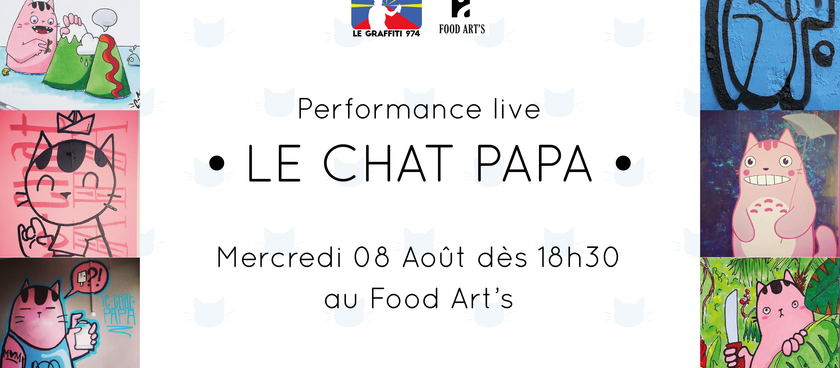 Le Chat Papa au Food Art's