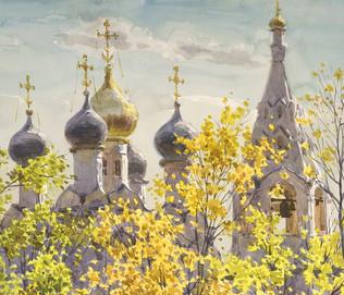 Moscou en l'aquarelle