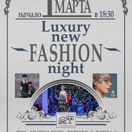 Luxury New Fashion Night
