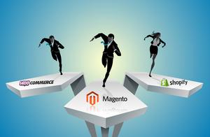 Magento vs Shopify vs WooCommmerce
