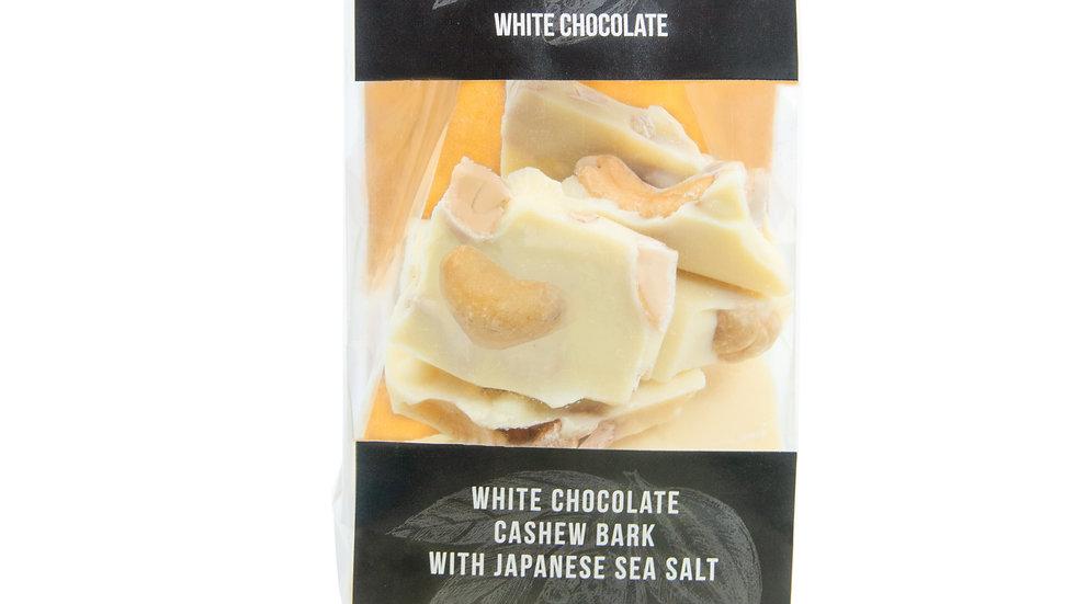 White Chocolate Cashew Bark