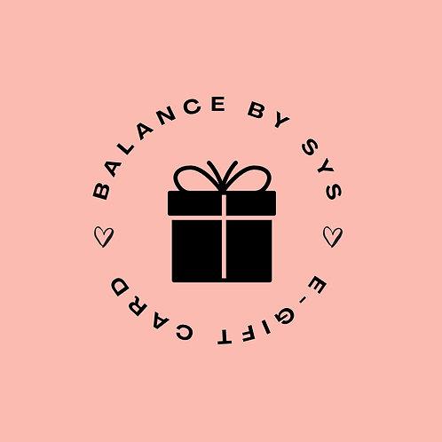Balance E-Gift Card