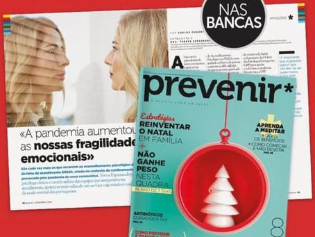 A pandemia ampliou as nossas fragilidades emocionais   Grande entrevista - Revista Prevenir