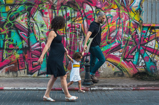 צילומי משפחה - שיר, מיכאל ודור