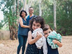 צילומי משפחה בחוץ