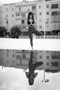 צילומי תדמית - אנה מדריכת פילאטיס