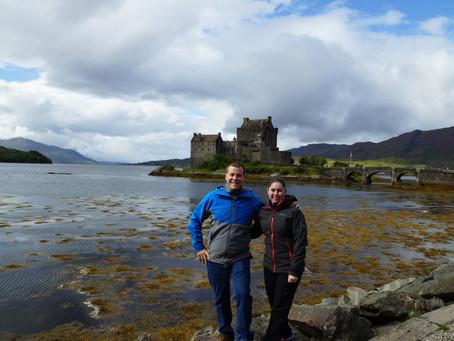 Eilean Donan Castle, Kyle of Lochalsh, Scotland.