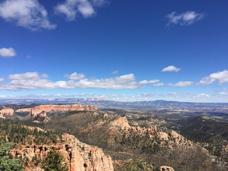 Bryce Canyon National Park Scenic Views.