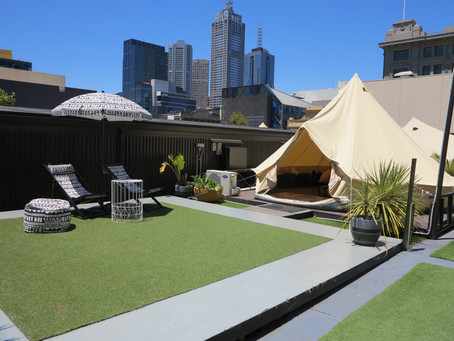 Camping / Glamping in Melbourne, Australia at St. Jerome's - The Hotel