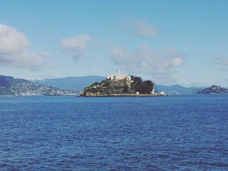 Alcatraz Island, San Francisco Bay, CA.