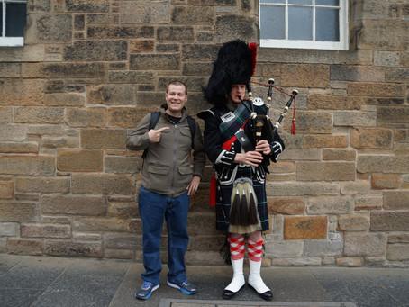 Self Guided Tour of Edinburgh, Scotland
