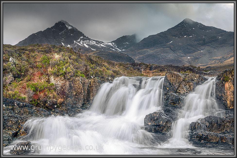Sligachan waterfall high skye 18