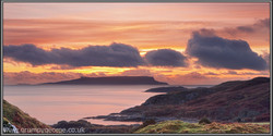 Eigg sunset from Skye 24