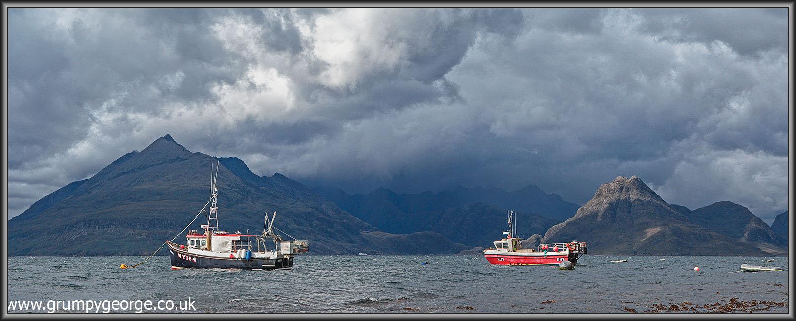 Elgol boats. Skye 30